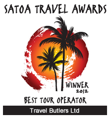 Travel Butlers - Best Tour Operator Winner at the 2012 SATOA Awards