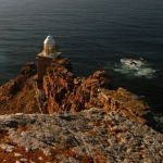 The lighthouse at the Cape Peninsula