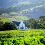 Cape Dutch architecture in the Winelands