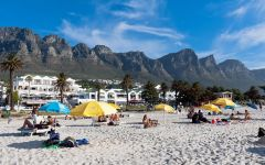 Beaches in and around Cape Town