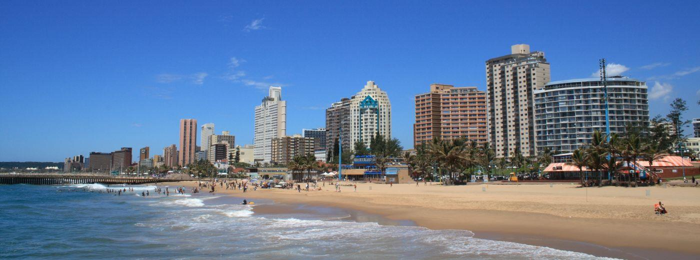 Private Beaches On Durban North South Africa