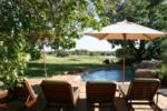 Pool and watering hole, Madikwe Game Reserve, ©The Bush House
