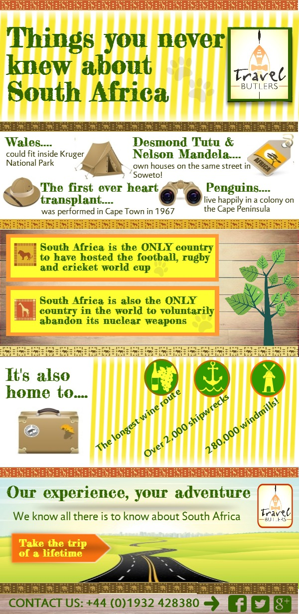 Amazing Things That You Never Knew About South Africa