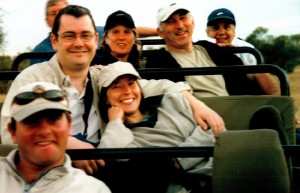 One of our very first game drives at Savanna