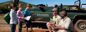 Kids safari at Kwandwe