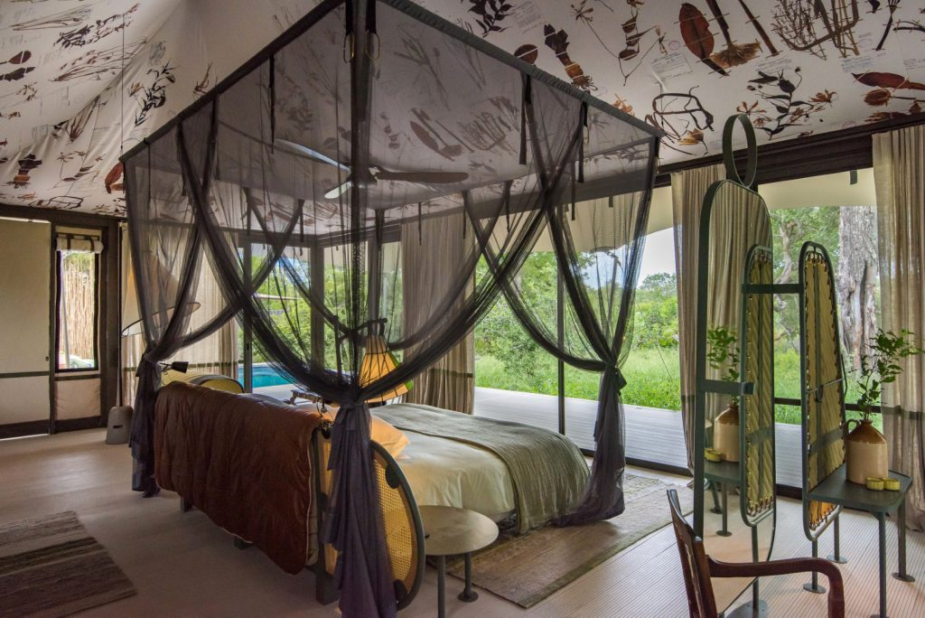 Saseka Tented Camp Room Interior