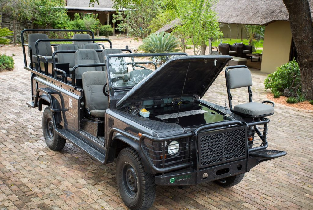 Makanyi Electric Safari Vehicle
