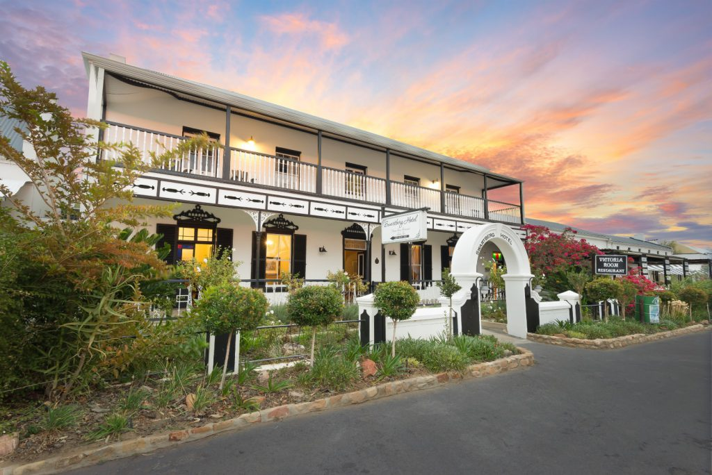 The Swartberg Hotel in Prince Albert