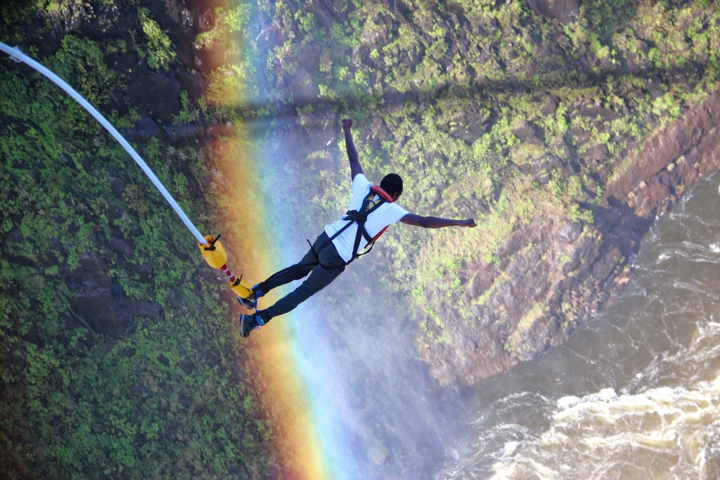 Jump into the unknown with Shearwater Bungee, Victoria Falls