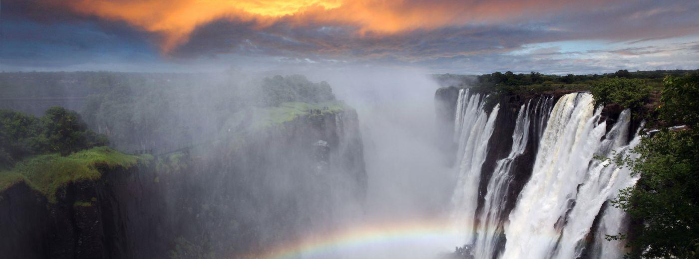 Victoria Falls In Full Flow