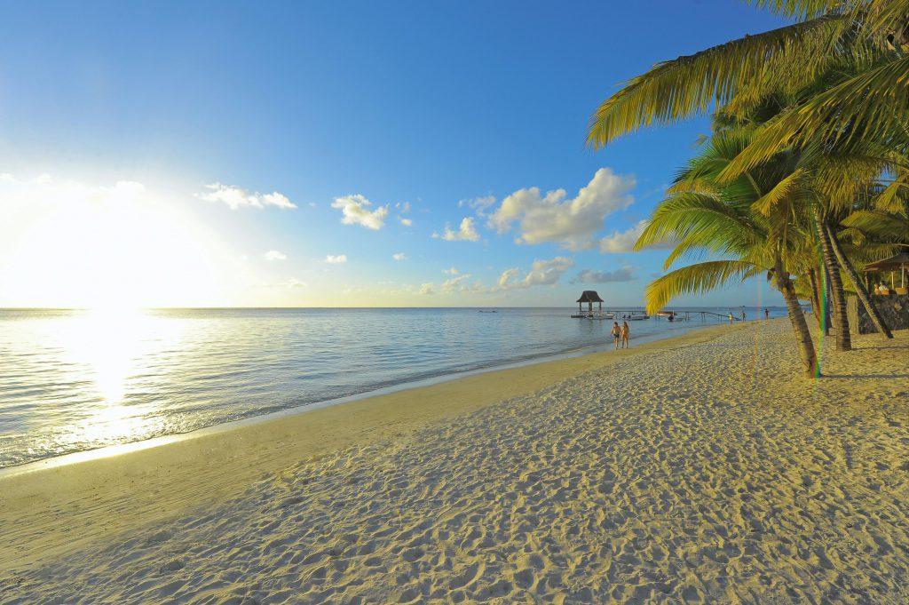 Beach at Trou aux Biches Mauritius