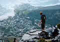 Rock Climbers on Table Mountain, Cape Town, ©Audrey Nattrass
