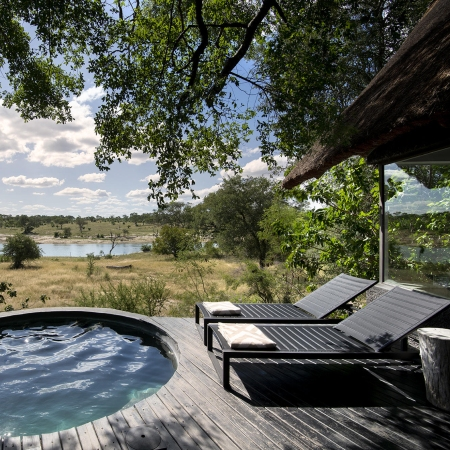 Private Plunge Pool at Chitwa Chitwa