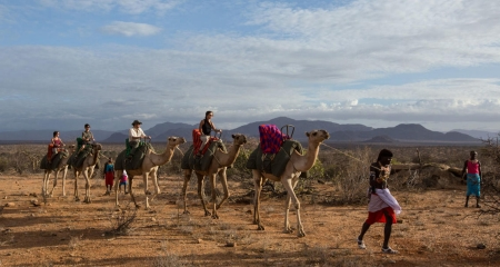 Afternoon Camel Ride in Samburu