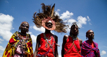 There are over 40 different ethnic African groups in Kenya