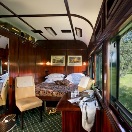 Travel in style on Rovos Rail