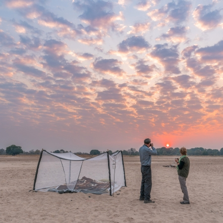 Fly Camping in South Luangwa