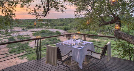 Dining Out At a Private Lodge