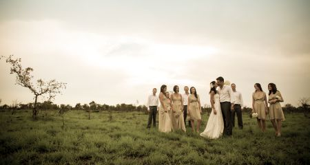 Wedding At Savanna Game Reserve