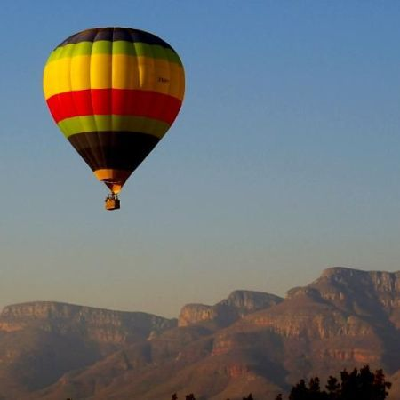 A balloon ride over the lowveld is a real highlight of a trip to South Africa.