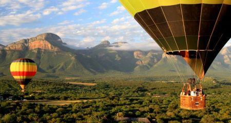 Balloon ride over the lowveld.
