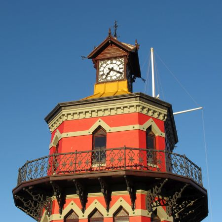 The Waterfront's Famous Clock Tower.