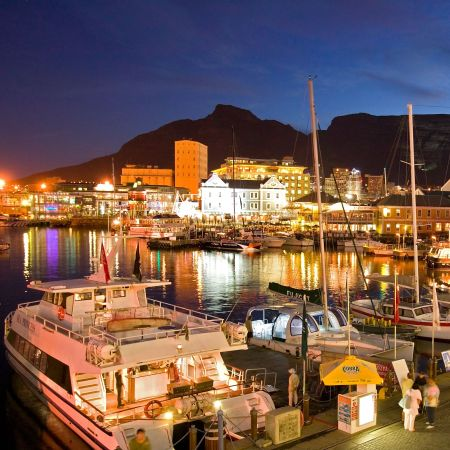 The V&A Waterfront has lots of bars and restaurants to choose from