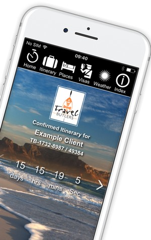 The Travel Butlers Guest Info App