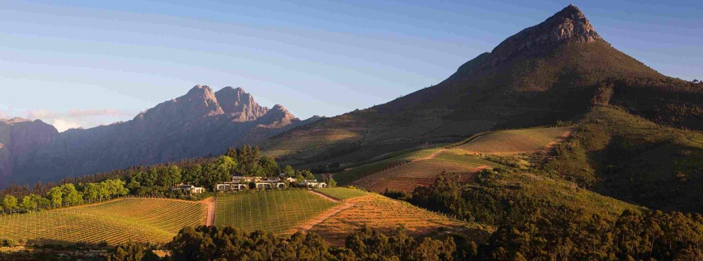 Holidays including the Cape Winelands