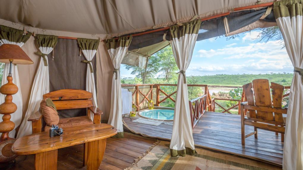 Elephant Bedroom Camp Samburu Eco System