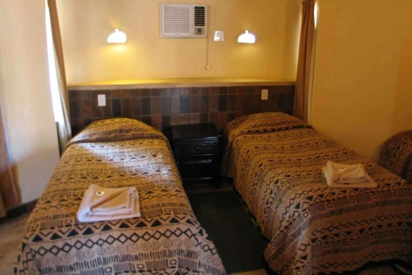 Clean and comfortable - typical accommodation in a SANParks Camp.
