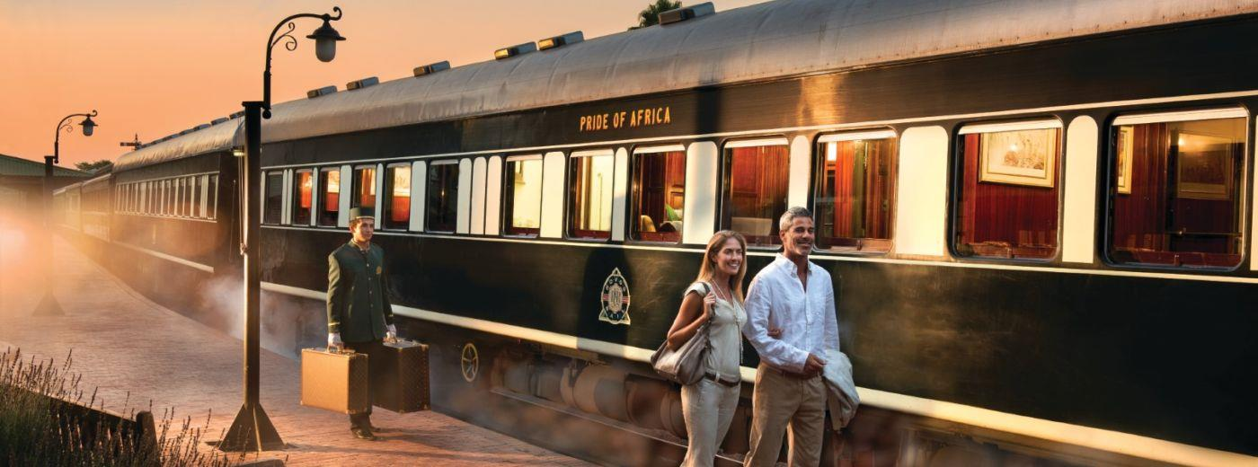 Cape Town to Dar es Salaam via Rovos Rail